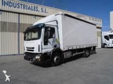8 Camión lona corredera (tautliner) Iveco Eurocargo 120E28 2014 465 000 km12t -