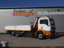 MAN TGA 26.350 L, 6x2, Atlas 120.2 E Kran h. FHS truck