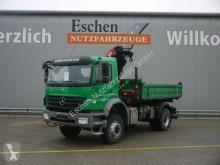camion Mercedes 1829 4x4 AK, Palfinger PKG 12001 Kran, Blatt