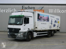 Mercedes beverage delivery flatbed truck