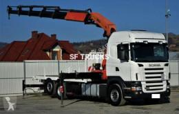 camião estrado / caixa aberta estandar Scania
