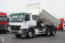 camión nc MERCEDES-BENZ - 3341 / 6 X 4 / WYWROTKA / HYDROBURTA / RETARDER