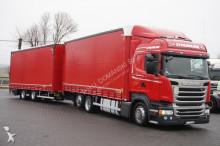 Scania R 410 / E 6 / ZESTAW PRZEJAZDOWY 120 M3 / RETARDER truck