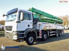 MAN concrete mixer + pump truck concrete truck