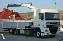 camión DAF XF 430 Pritsche 7,50 m + Kran * Topzustand!