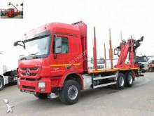 Mercedes Actros 2646 6x4 Holztransporter Kurzholz Palfin truck