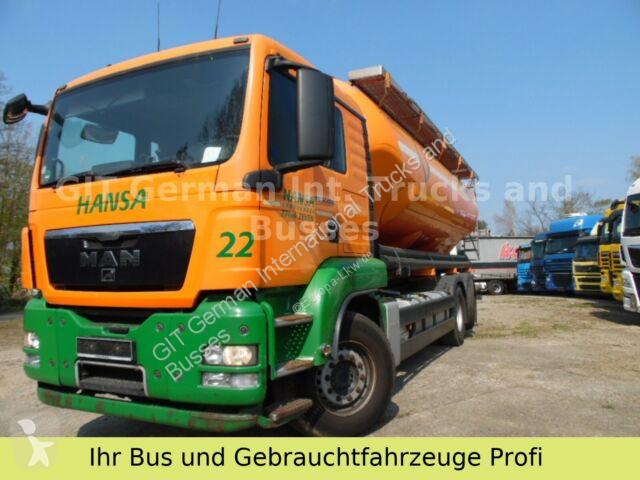 Camion MAN TGX 26.400 Silo mit 4 Kammer