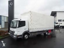 camion Mercedes Atego 818 Pritsche/Plane + LBW Klima Standh.