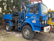 Renault concrete mixer auxiliary crane