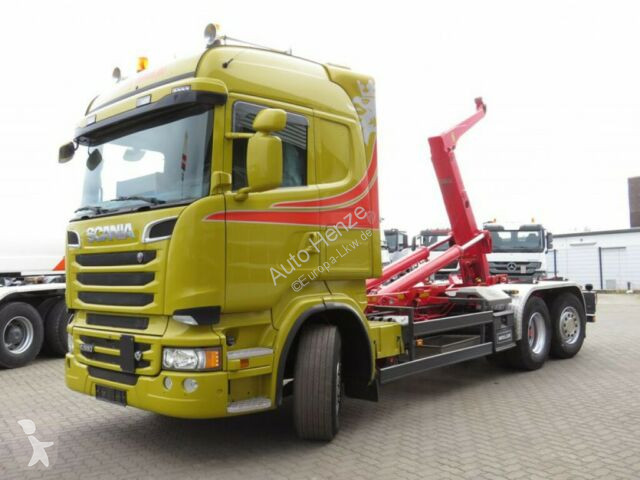 f8dc63cfb9bc65 Used Scania tipper truck Meiller R 560 6x2 Abrollkipper V8