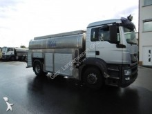 MAN food tanker truck