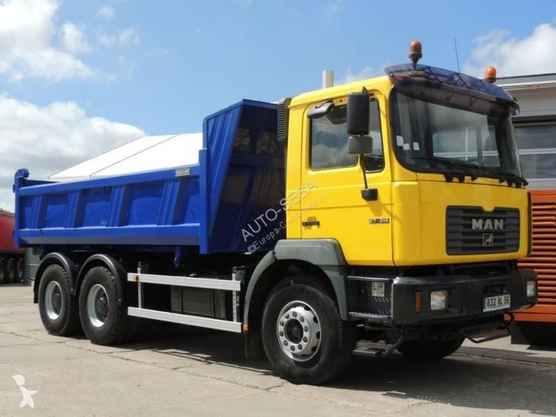 Nietypowy Okaz Ciężarówka wywrotka dwustronny wyładunek używany MAN F2000 27.314 ZS92
