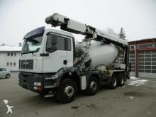 camião MAN 35.390 TGA 8x4 Beton 8m³ Transportband Blatt