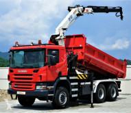 camion Scania P380 Kipper+Bordmatic 4,90m +Kran*6x6*Topzustand