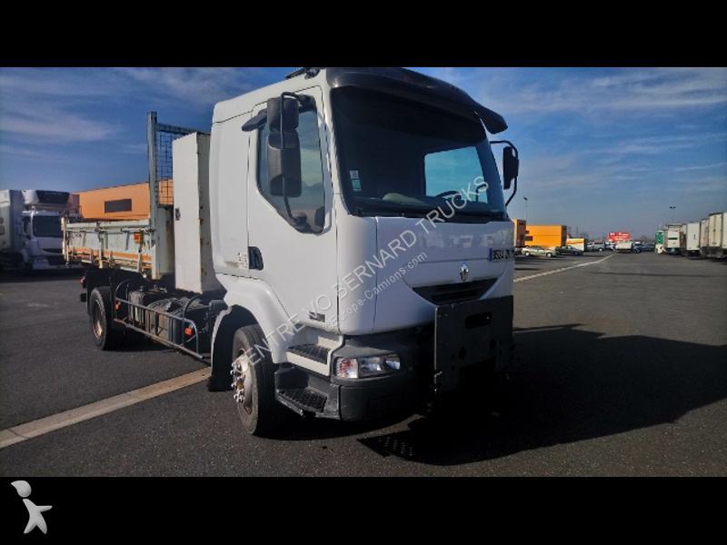 Camion Renault 180.12 BI Benne
