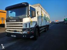 Scania 114L 6x2 Benne Fond Mouvant