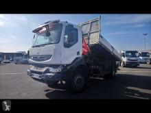 camion Renault Kerax 4X2 BENNE ET GRUE