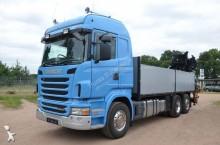 -24h 16 Camión caja abierta Scania R 480 2010 570 577 km6x2 - Euro 5 - Grúa - 48
