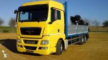 -24h 16 Camión caja abierta MAN TGS 26.480 2011 345 000 km6x2 - Euro 5 - Grúa -