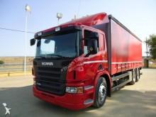 -24h 16 Camión lona corredera (tautliner) Scania P 360 2009 406 000 km6x2 - Euro