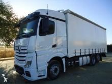 -24h 16 Camión lona corredera (tautliner) Mercedes Actros 2545 2013 498 000 km6x