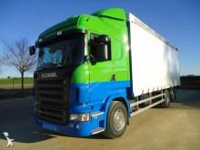 -24h 16 Camión lona corredera (tautliner) Scania R 400 2008 405 500 km6x2 - Euro