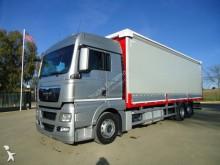 -24h 16 Camión lona corredera (tautliner) MAN TGX 26.440 2009 595 000 km6x2 - Eu