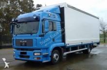 -24h 9 Camión lona corredera (tautliner) MAN TGM 18.280 2008 448 000 km4x2 - Eur