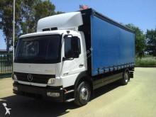 -24h 16 Camión lona corredera (tautliner) Mercedes Atego 1218 2007 370 000 km4x2