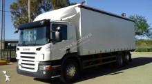 -24h 15 Camión lona corredera (tautliner) Scania P 400 2010 365 000 km6x2 - Euro