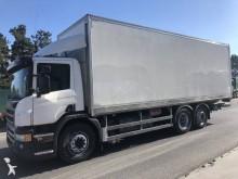 -24h 10 Camión furgón Scania P 400 2013 643 000 km6x2 - Euro 5 - rampa elevadora
