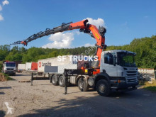 camión caja abierta estándar Scania