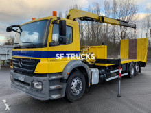 Mercedes Axor 2533 heavy equipment transport