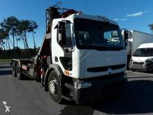 ciężarówka Palfinger Renault premium pl11001a 6X4 used crane truck