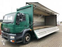 camion plateau brasseur MAN