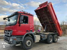 camion Mercedes 2644 6x4 Meiler Stahl Bordmatic EEV Euro 5 Tüv N