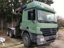 грузовик Mercedes 2658 Langholz 6x4 Schaltung Liv Kran L24.93 P