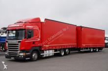 vrachtwagen Scania R 410 / E 6 / ZESTAW PRZEJAZDOWY 120 M3 / RETARDER