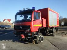 Mercedes 1124AF 4x4 ZW Feuerwehr Zweiwege Schienenverkehr