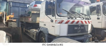 camion MAN 27.414MAN 6x4 Abroller/Kipper Ellermann Seil