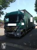 vrachtwagen Mercedes 2544 Plane Spriegel mit Hänger Krone