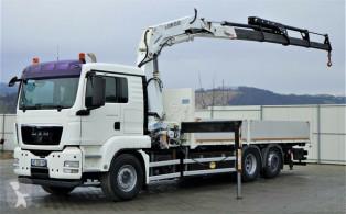 camión MAN TGS 26.440 Pritsche 6,20 m + Kran*6x2Topzustand!