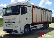 Mercedes livestock truck