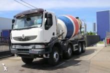 -48h 10 Camión hormigón Renault Kerax 370 DXI 2009 203 837 km8x4 - Euro 4 - 370
