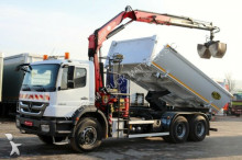 camion Mercedes AXOR 2633/6x4/TIPPER+CRANE FASSI F175 /TAIL LIFT