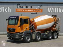 camion MAN TGS 35.360 BB, 8x4, 9m³ Liebherr, Klima
