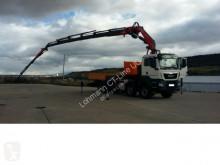 camião MAN TGS 41.440 8x8 Pritsche + Kran FASSI F 600 XP