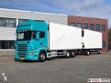 ciężarówka z przyczepą chłodnia z regulowaną temperaturą Scania