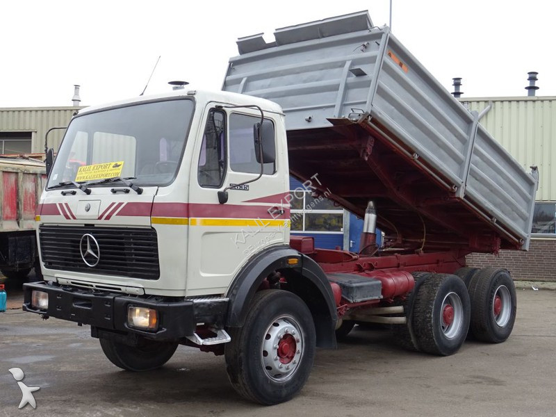 Camion Mercedes 2635 Kipper ZF V8 13T. Top Condition
