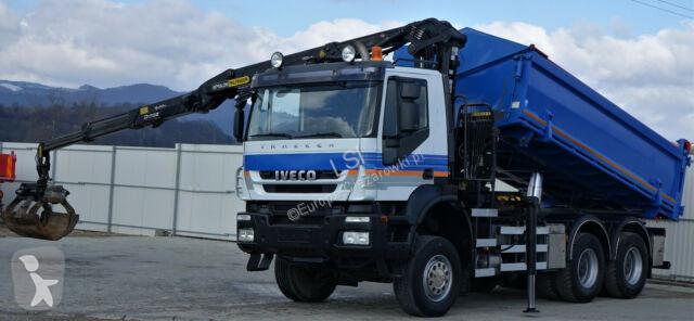Ciężarówka Iveco Trakker 360 Kipper 5,20m*6x6*+KranTopzustand